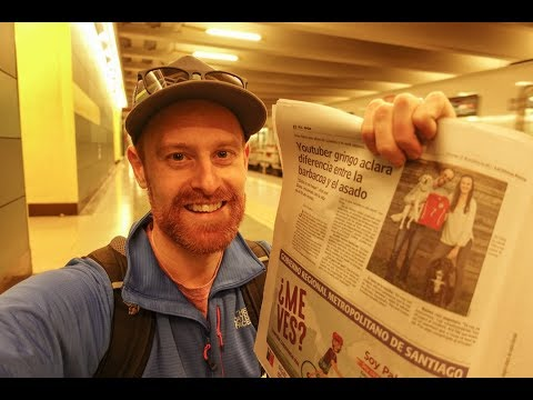 SANTIAGO, CHILE. I'm in the newspaper???! | S.02 Ep.79