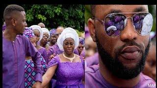 Yoruba Actress,Bukola Arugba &Actor Damola Olatunji In Tears As She Buried Her Mum in Kwara State