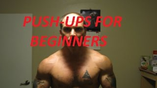 Push-Ups for Beginners, Push-Up Progression Part 1
