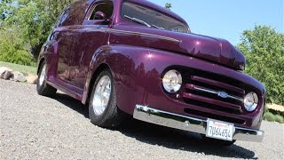 1948 Ford Panel Truck for Sale w/ Custom Paint by Bill Knight