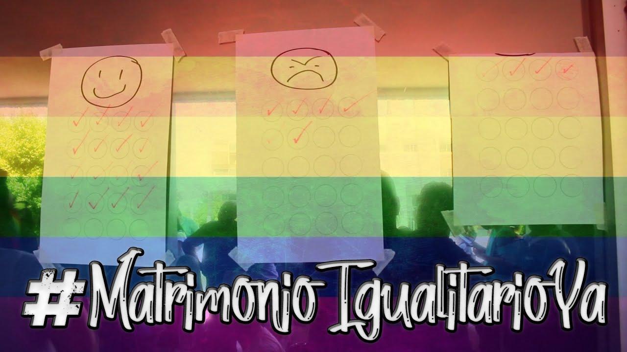 #MatrimonioIgualitarioYa
