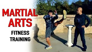 Martial Arts Fitness Circuit Training