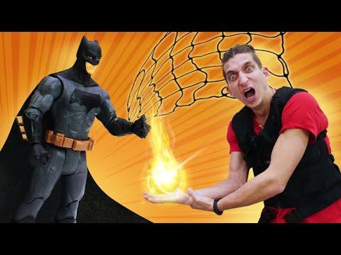 Супергерои игры онлайн – Бэтмен и кристалл Десептиконов! - Видео шоу Фабрика Героев.
