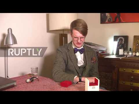 Romanov descendant uses own BLOOD in watches to 'mourn' Russian Revolution