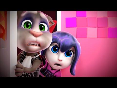 🕯️🕷️A Screaming Halloween of Talking Angela (SHORT Cartoons)