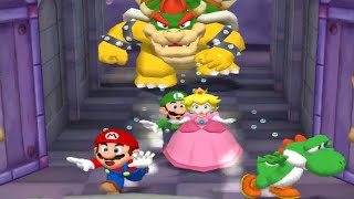 Mario Party 5 Minigames - Mario vs Luigi vs Yoshi vs Peach (Master Cpu)