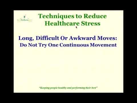 Injury Prevention and Reduction in Healthcare Professionals   Best Performance Systems