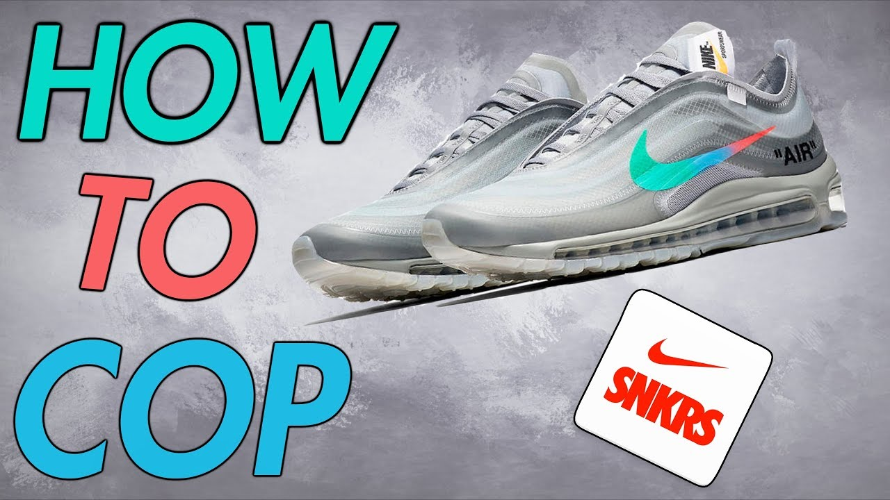 HOW TO COP THE OFF WHITE x NIKE AIR MAX