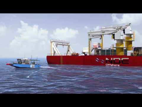 NDE Offshore, animated service presentation