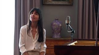 Music performance by Marina Cedro recorded at Hotel Lancaster, Paris