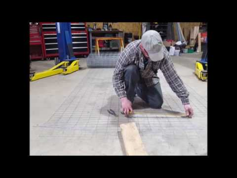 How to build a gabion wall part 1 youtube how to build a gabion wall part 1 solutioingenieria Gallery