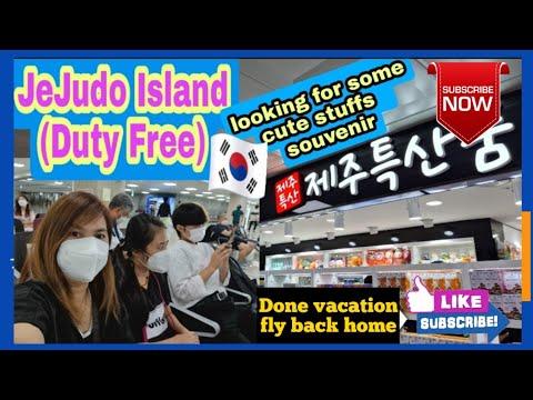 Duty Free sa Jejudo Island/Done 3 days  vacation