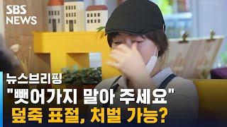 """""""설마 했어요"""" 사장님의 호소…덮죽 표절, 처벌 가능? / SBS / 주영진의 뉴스브리핑"""