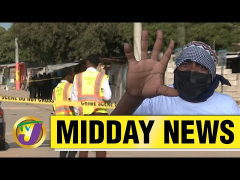Taxi Strike in St. Mary, Jamaica   $387 Billion Wasted I TVJ News