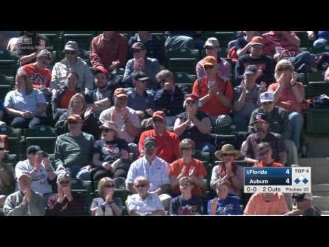 Auburn Baseball Vs Florida Game 3 Highlights