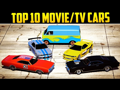 top 10 movietv inspired cars in gta online youtube