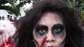 Karnaval Syukuran KG 2019 Tampilkan Parade Kostum Ada Zombie Hingga Super Hero