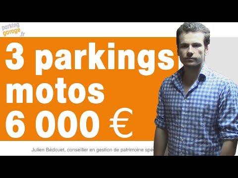 Investir dans un parking moto à Paris est très rentable