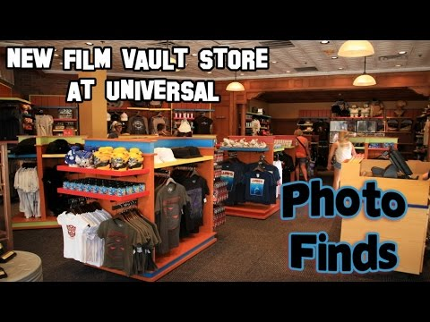 Photo Finds: Film Vault Store at Universal & Disney Springs Construction Update - Aug. 19, 2014