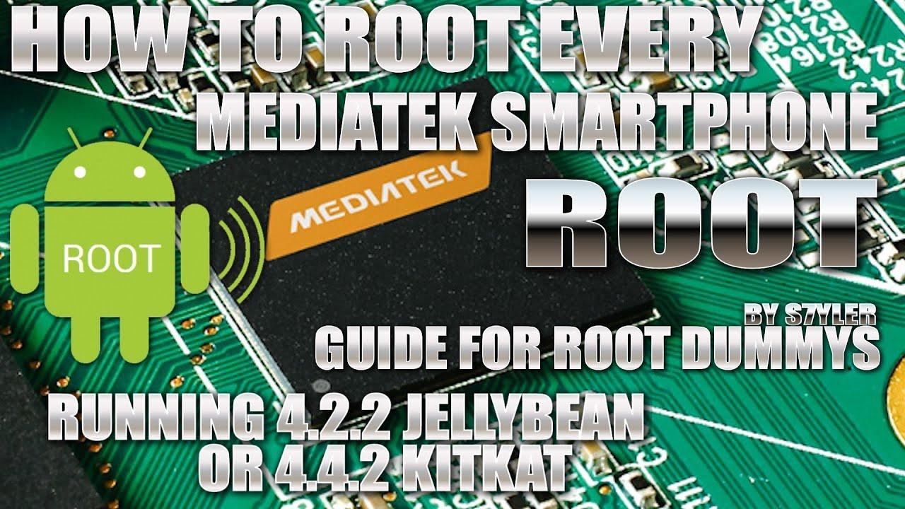 How to 1-CLICK-ROOT Mediatek 4 2 or 4 4 KitKat Smartphones and change iRoot  to normal SuperSU