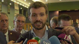 Casado cree que Sánchez ya tiene decidido ir a elecciones