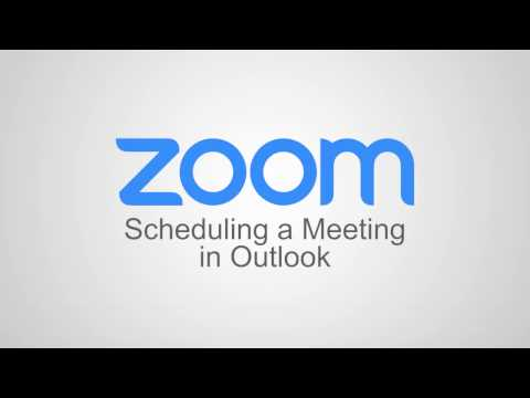 Scheduling a Meeting in Outlook - YouTube