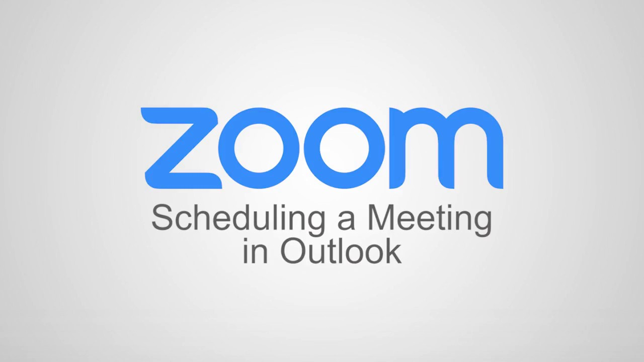 Scheduling a Meeting in Outlook