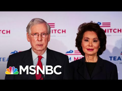 Ethics Probe Made Criminal Referral For Elaine Chao; Not Unique Among Trump Cabinet | Rachel Maddow