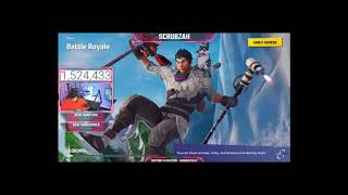 New Fortnite Slushy Soldier Skin! UNLOCKING NEW CHRISTMAS SKINS IN FORTNTIE BATTLE ROYALE! part2