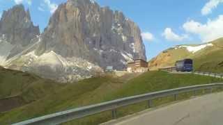 Dolomiten Rundfahrt  im Mai 2011