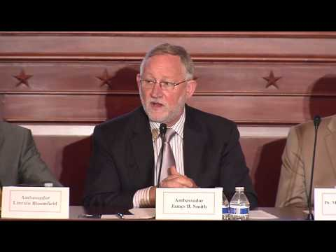 James B. Smith, the Former U.S. Ambassador to Saudi Arabia Speaks at OIACUS Briefing, July 24, 2015