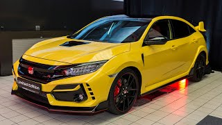 2021 Civic Type R Limited Edition – Interior, Exterior details and Accessories