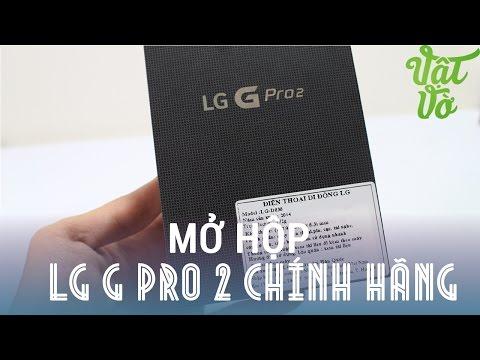 [Review dạo] Mở hộp G Pro 2 chính hãng giảm giá chỉ còn hơn 7 triệu đồng