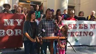 New Orleans church grants sanctuary to undocumented immigrant