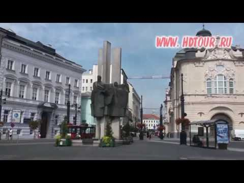 Slovakia #1. Bratislava City tour and Video guide.