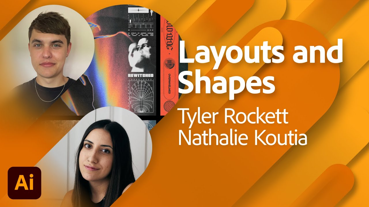 Layouts and Shapes with Tyler Rockett and Nathalie Koutia | Adobe Live