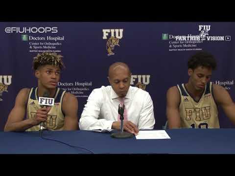 FIU Men's Basketball vs. South Alabama Anthony Evans Full Postgame Press Conference - Dec. 2, 2017