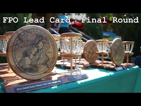 2014 US Women's Disc Golf Championships: Final Round (Pierce, King, Carr, Allen)