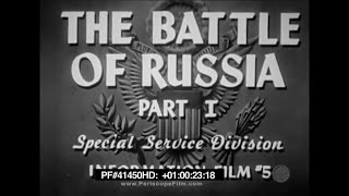 The Battle of Russia - Why We Fight Part 5 Frank Capra WWII Stalingrad 41450 HD