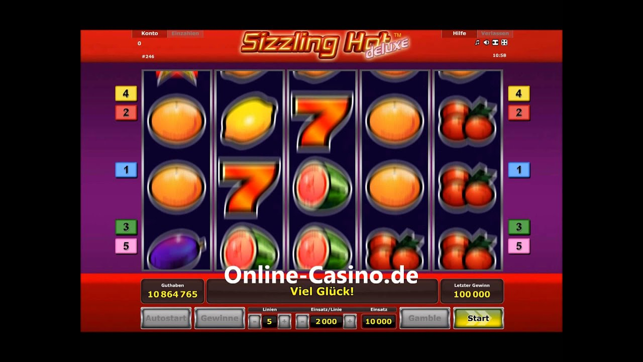 Sizzling Hot Online Casinos
