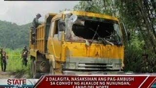 SONA: Ilang saksi sa Lanao del Norte ambush, ikinuwento ang anila