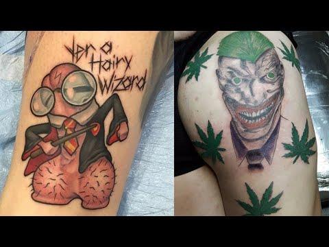 Worlds Worst Tattoos!! #96