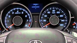 2012 - 2009 Acura TL Personal Settings Tutorial