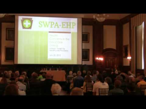 The Potential Health Effects of Hydraulic Fracturing, Part 4, Panel Discussion, 35 mins