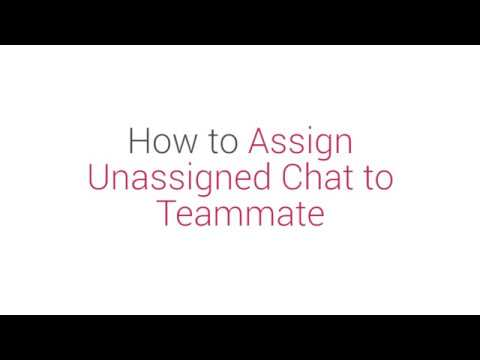 Prism Dashboard Tutorial: How to Assign Unassigned Chat to Teammate