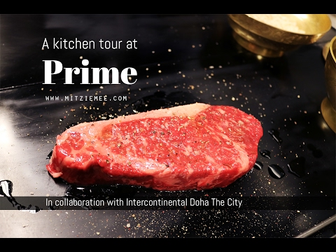 A kitchen tour at Prime - Intercontinental Doha The City