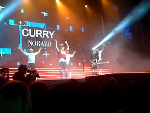 MBC LONDON CONCERT 230612 - NORAZO      HAPPY SONG + CURRY