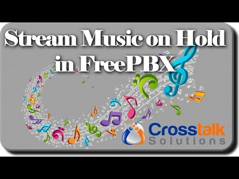 Streaming Music on Hold in FreePBX