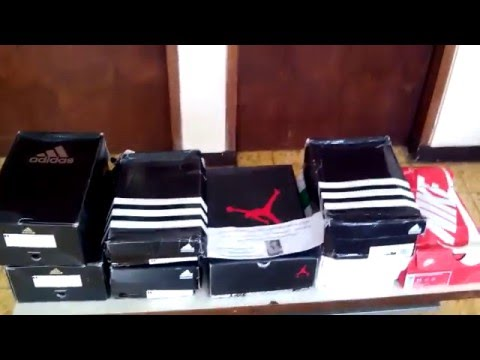 Hasil Order Jasa Order / Import Barang 6 Pasang Sepatu Original