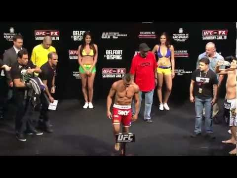 UFC on FX 7: Belfort vs. Bisping Weigh-In